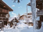 """This pioneering, chalet-style hotel was built from scratch in 1989 out of old timbers salvaged from Savoyard farmhouses. It was the brainchild of local couple Jocelyne and Jean-Louis Sibuet, who went on to create a mini empire of small, interesting properties scattered across the Alps, Lyon, Provence, and St. Bart's. Along with all that gorgeous pine—sloping beamed ceilings, slated wood terraces, four-posters, and open fireplaces—comes comfort: a cozy mix of textures and muted shades from silvered cow-skin rugs and creamy flannels to soft wool plaids and deep leather sofas, plus the occasional baroque carved antique. After a stint on the powdery slopes, have lunch on the terrace of Le Restaurant Alpin and order the divine three-cheese fondue—worth every calorie. Those who aren't die-hard <a href=""""https://www.cntraveler.com/galleries/2015-01-06/best-ski-resorts-in-europe-alps-readers-choice-awards-2014?mbid=synd_yahoo_rss"""" rel=""""nofollow noopener"""" target=""""_blank"""" data-ylk=""""slk:ski bums"""" class=""""link rapid-noclick-resp"""">ski bums</a> can work it off in the heated indoor pool at the Pure Altitude Spa, where signature treatments are packed with Arctic berries, botanical extracts, and anti-aging mountain edelweiss."""