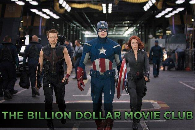 """The Avengers is an elite group that only the most powerful heroes in the universe can join. """"Marvel's The Avengers,"""" the movie that brings Iron Man, Thor, Captain America, and the Hulk together, has just joined an elite group of its own. The film has become the 12th film in history to cross the $1 billion mark at the worldwide box office.<br><br>After breaking the U.S. record for the biggest opening weekend with a $207 million debut, """"The Avengers"""" also scored the highest-grossing second weekend ever with an estimated $103 million. It's the fastest domestic release to reach the $300 million mark, but since it was released in other countries first, it did not set the record for the quickest to cross $1 billion worldwide. That record is still held by the reigning champ, """"Avatar,"""" which did it in 17 days, two fewer than """"Avengers""""<br><br>Click ahead to see the rest of the billion dollar club."""