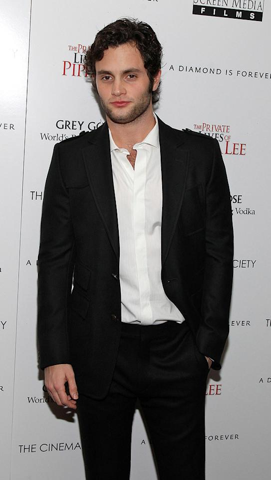 """<a href=""""http://movies.yahoo.com/movie/contributor/1807880535"""">Penn Badgley</a> at the New York City Cinema Society screening of <a href=""""http://movies.yahoo.com/movie/1810025242/info"""">The Private Lives of Pippa Lee</a> - 11/15/2009"""