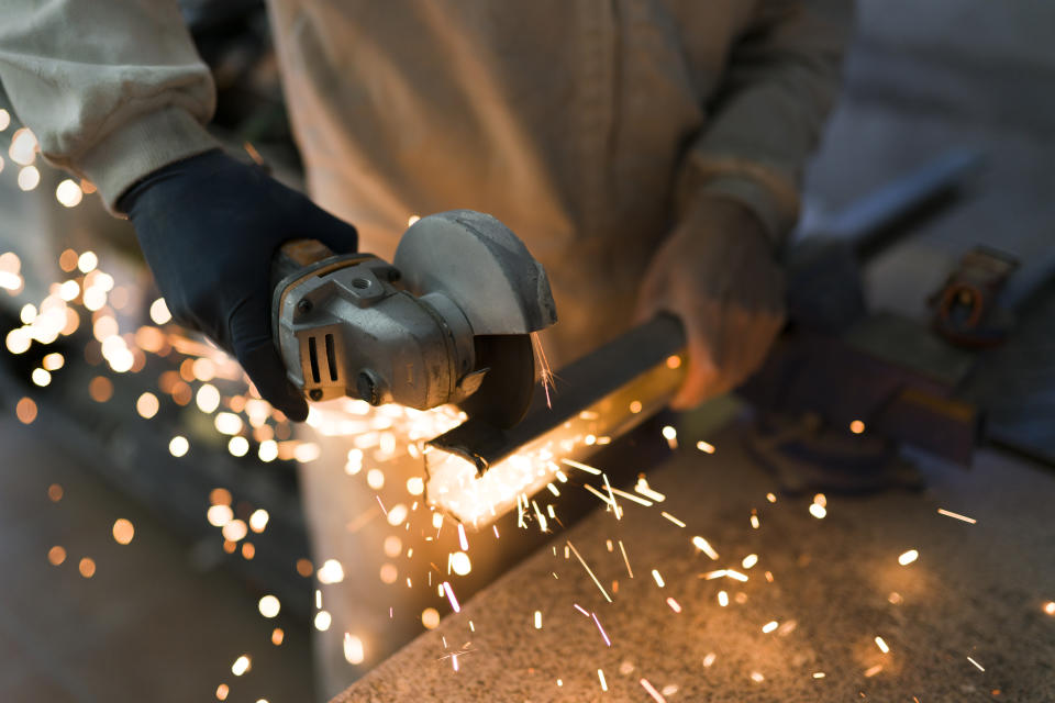 Manufacturers reported broadly flat output (+3% from -8%) – the most positive balance for the sector since May 2019. Photo: Getty