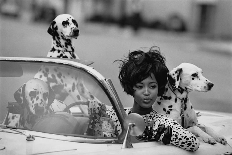 """Seeing Spots,"" with model Naomi Campbell"