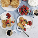 "<p>Heart-shaped waffles aren't just for Valentine's Day. You can feel the love all year round at the in-store IKEA restaurant with their not-too-thick waffles. Best part? They're only a buck.</p><p>Photo: Instagram/<a href=""https://www.instagram.com/p/BfK4jW9AJSn/"" rel=""nofollow noopener"" target=""_blank"" data-ylk=""slk:ikeafoodservices"" class=""link rapid-noclick-resp"">ikeafoodservices</a></p>"