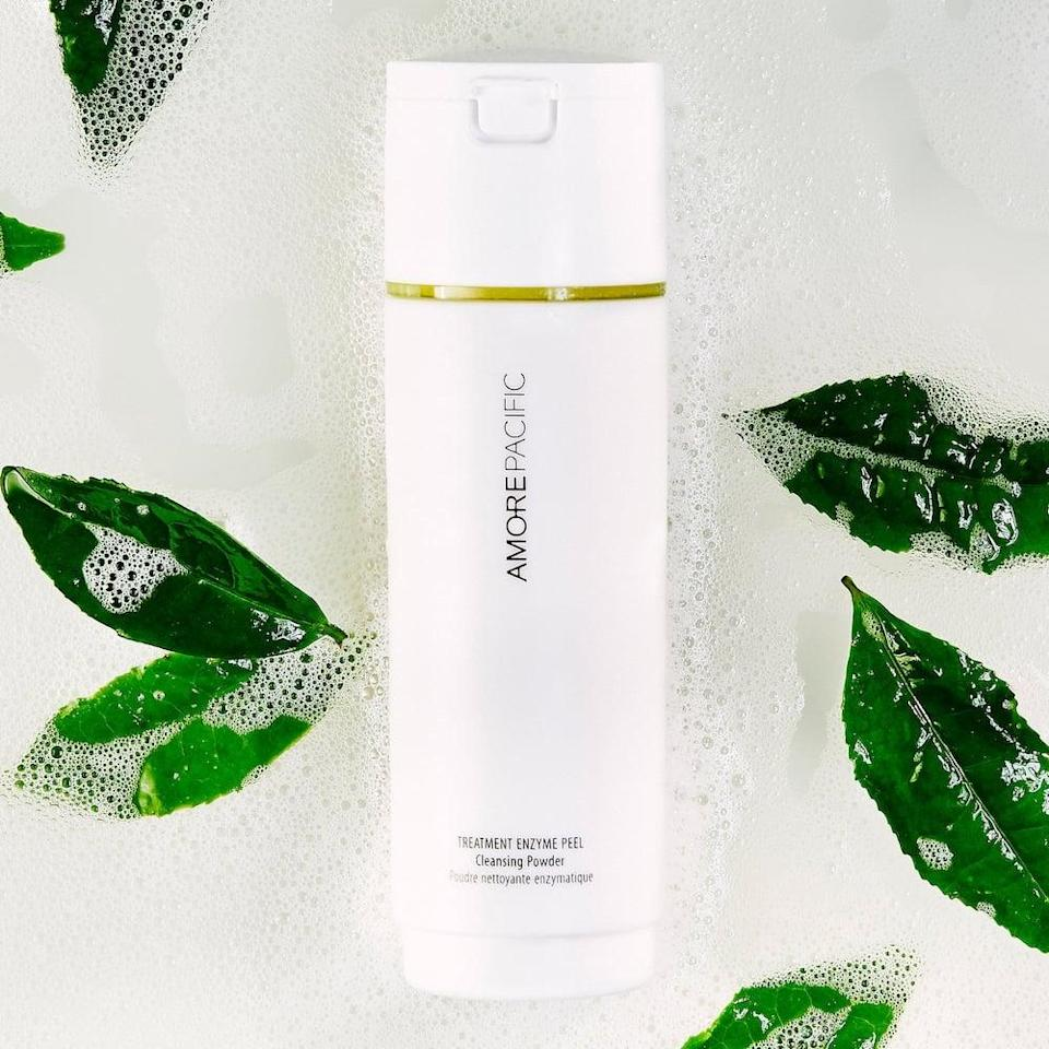 <p>Just add water to activate the <span>Amorepacific Treatment Enzyme Exfoliating Powder Cleanser</span> ($60). All you need is a dash of this to gently cleanse and exfoliate your face. It's so gentle you can use it every day!</p>
