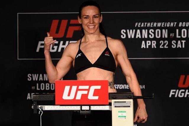 Alexis Davis figures to present a difficult test for Cindy Dandois in her UFC debut. (Getty Images)
