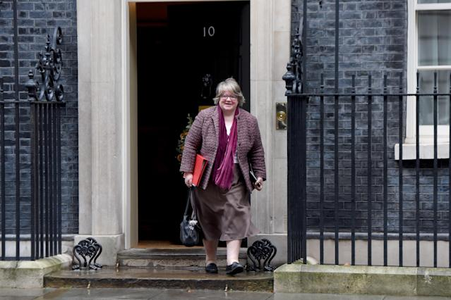 Work and pensions minister Therese Coffey. Photo: Kate Green/Anadolu Agency via Getty Images