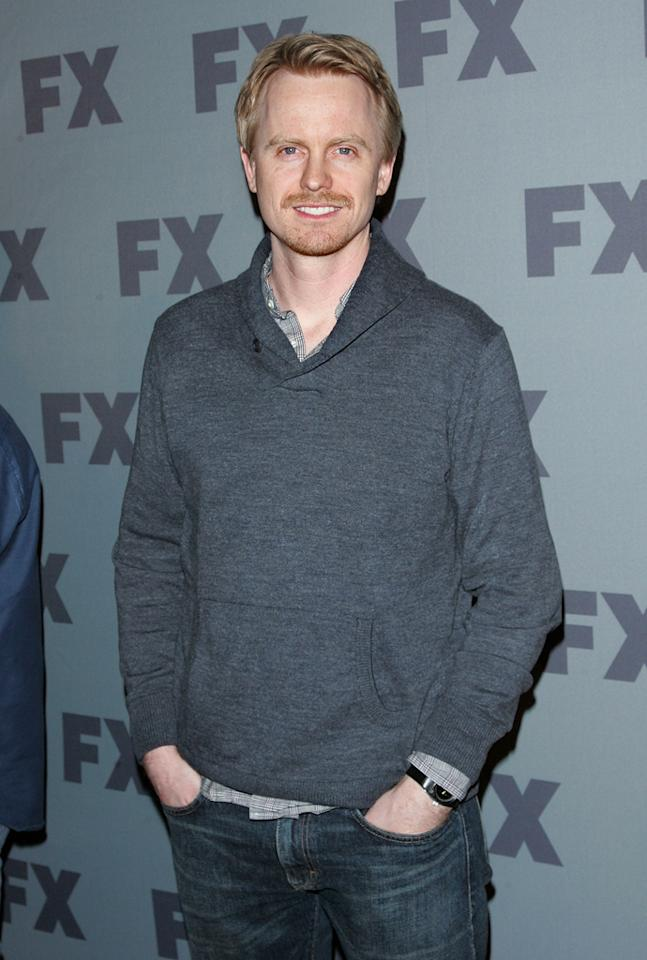 "David Hornsby (""<a href=""http://tv.yahoo.com/unsupervised/show/47788"">Unsupervised</a>"") attends FX's 2012 Upfronts at Lucky Strike on March 29, 2012 in New York City."