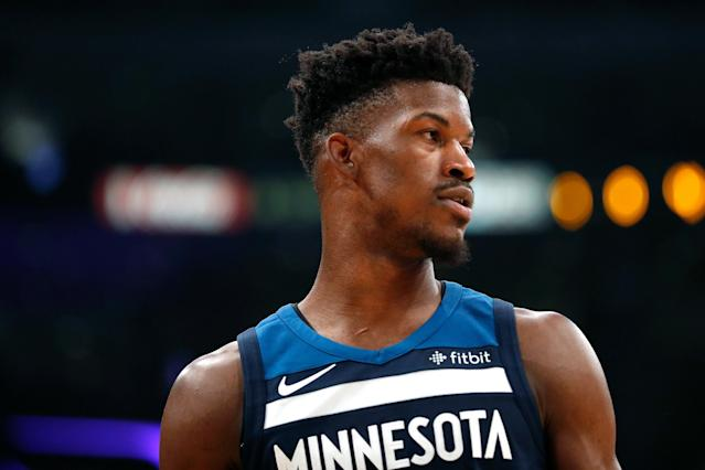 Jimmy Butler wants out of Minnesota. The feeling seems mutual for Minnesota fans. (Getty Images)