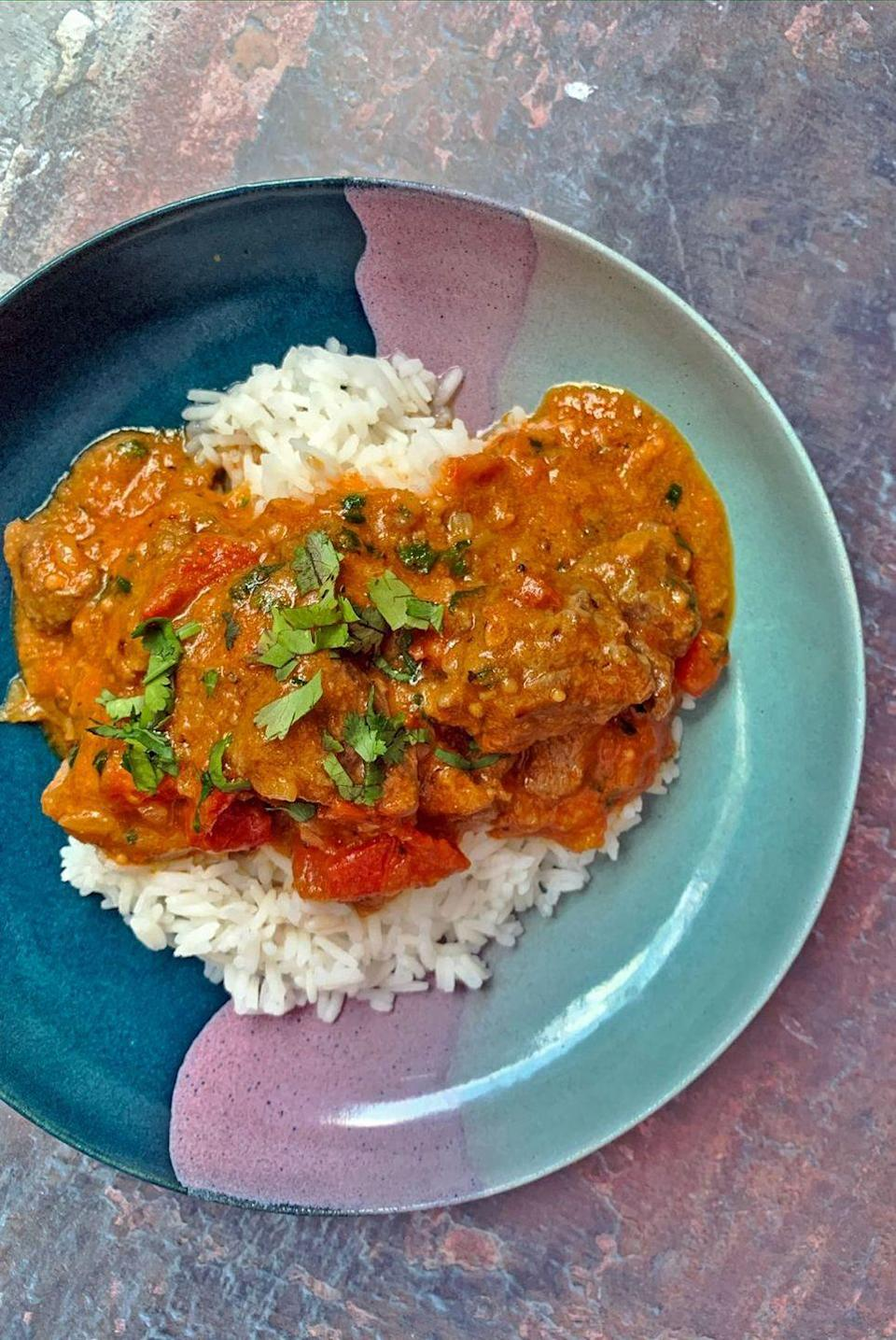 "<p>Lamb Karahi is one of our favourite <a href=""https://www.delish.com/uk/cooking/recipes/g33455599/best-curry-recipes/"" rel=""nofollow noopener"" target=""_blank"" data-ylk=""slk:lamb curry"" class=""link rapid-noclick-resp"">lamb curry</a> dishes, and we're telling you now, it is well worth the time and effort to make.</p><p>Get the <a href=""https://www.delish.com/uk/cooking/recipes/a33642009/lamb-karahi/"" rel=""nofollow noopener"" target=""_blank"" data-ylk=""slk:Lamb Karahi"" class=""link rapid-noclick-resp"">Lamb Karahi</a> recipe.</p>"