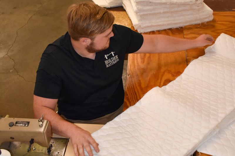 U.S. mattress business springs back from pandemic shutdown