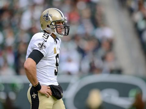 drew brees no saints