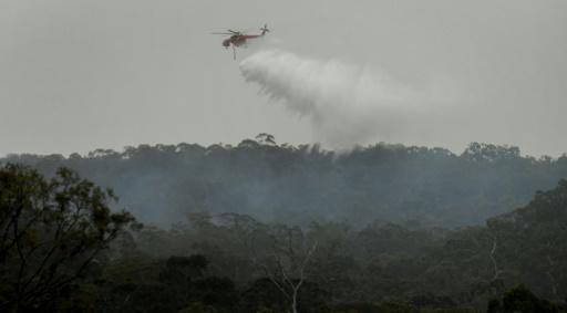 Fires have been burning in Melbourne's outer suburbs