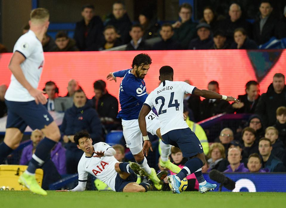 Son tripped Gomes before he collided with Serge Aurier (Credit: Getty Images)