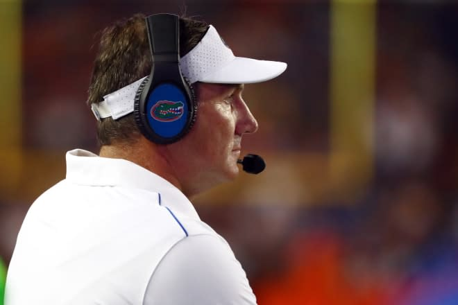 Gators coach Dan Mullen tests positive for COVID-19