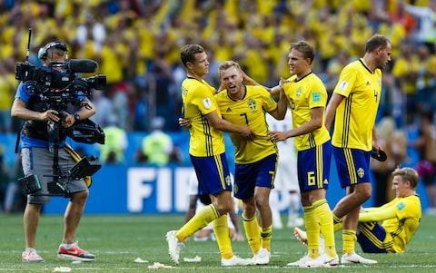 "Jamie Carragher: Southgate has changed our perceptions Paul Hayward: It's now or never for England at the World Cup Belgium vs Panama (4pm kick-off) England vs Tunisia (7pm kick-off) Andreas Granqvist took advantage of a VAR-awarded penalty to hand Sweden a 1-0 win over South Korea in their World Cup opener. The Sweden captain tucked home in the 65th minute of the Group F clash in Nizhny Novgorod after technology was used to rule that Viktor Claesson had been fouled in the area. It was a deserved victory for Sweden, who created the better chances throughout and Marcus Berg spurned a couple of good openings. The Swedes had been accused of spying on a Korea training session in the build-up to the game but they began with an apparent determination to put their own shortcomings in front of goal right. Sweden had not scored in three outings prior to the tournament but they showed the greater attacking intent in the first half. Granqvist, without defensive colleague Victor Lindelof of Manchester United due to illness, had an early opportunity after breaking from deep. He combined well with Berg, who returned his pass with a neat backheel, but Kim Young-gwon produced a fine tackle to frustrate him. Marcus Berg missed a wonderful chance for Sweden in the first half Credit: reuters Korea goalkeeper Jo Hyeon-woo then justified his unexpected selection, having been regarded as coach Shin Tae-yong's third choice, by producing a fine point-black save to deny Berg. Ola Toivonen headed wide from the resulting corner. Korea suffered a blow when left-back Park Joo-ho was forced off midway through the first half with a hamstring injury and Sweden threatened again moments later through Berg, but again Young-gwon got in the way. Tottenham's Son Heung-min created a rare Korea opportunity as he broke away from Granqvist but he was unable to pick out a colleague in the box. Berg had another chance before the break as he controlled a long ball on his chest and took it away from the keeper but he could only lob across goal. Mikael Lustig picked out Claesson with an inviting cross on the stroke of half-time but his header was deflected wide. Sweden now top Group F alongside Mexico Credit: getty images Korea began the second half more positively with Koo Ja-cheol heading narrowly wide but Sweden soon regained control and Jo again did well to keep out a header from Toivonen. The breakthrough came after 65 minutes as Sweden were awarded a penalty after video review. Referee Joel Aguilar initially allowed play to go on after Claesson was hacked down by Lee Jae-sung but called a halt moments later, as Korea launched a counter-attack, after a word in his ear. Granqvist took responsibility and sent Jo the wrong way. That proved the telling blow and Sweden were largely untroubled as they saw out victory. Korea might have snatched an equaliser in stoppage time but Hwang Hee-chan was unable to keep his header on target. 3:09PM What next? Anyway, what does that mean for Group F? Well, Sweden join Mexico at the head of the table, while South Korea and Germany are pointless (and goalless). Today's winners face the reigning World Cup champions next, which is a huge game. If Germany lose... well. Let's wait and see. 3:06PM Good job / bad job Obviously Clatts knows a hell of a lot more about refereeing than me, but I'm not really sure what the problem is. Yes, replays showed it was a penalty, but it all happened very quickly and did not appear clear cut at first viewing. VAR did the required job and all has ended correctly. Can't we just be happy with that? 3:02PM Referee view Mark Clattenburg (speaking on ITV) on the VAR decision: What I'm concerned about the refereeing so far is he has a perfect chance to make the decision. He moves across beautifully. He has an unobstructed view and can clearly see it is a foul. I can't understand how a referee at this level cannot make a simple decision like this. Are they relying too much on the video? 2:59PM Full-time stats Sweden vs Korea Rep shots on goal Average touch positions (0 min) 2:58PM Reaction A strange game, as a whole. You have to say Sweden deserved it, although they were rather underwhelming both for their poor finishing and the way they played after taking the lead. South Korea just looked blunt though. They didn't have enough to break down a decent defensive performance from the Swedes. 2:51PM Full-time Sweden 1 South Korea 0 2:51PM 90+3 mins - Sweden 1 South Korea 0 A needless corner given away by Sweden! The Korean goalkeeper wanted to come up for it, but the coach says no. In comes the ball and the Koreans reckon there may have been a Swedish handball, but the referee isn't interested at all. Replays show the ball seemed to thud into Granqvist's head or perhaps chest. Correct decision. 2:49PM 90+2 mins - Sweden 1 South Korea 0 Was that the chance? The ball is delivered high into the box, it finds its way to Hwang unmarked on the penalty spot, but his header is off target and wide of the post. I tell you what, Sweden have been hopeless since taking the lead. You could argue they are content to sit back on their 1-0 lead, but they have barely touched the ball. 2:47PM 90 mins - Sweden 1 South Korea 0 There will be four minutes of stoppage time for South Korean to find an equaliser... 2:46PM 89 mins - Sweden 1 South Korea 0 Kim Min-Woo's cross from the left is hacked clear at the near post. 2:45PM 88 mins - Sweden 1 South Korea 0 The Koreans are really struggling to break Sweden down. Plenty of possession, but they are greeted with a wall of yellow and don't seem to possess anything capable of breaking it down. 2:43PM 86 mins - Sweden 1 South Korea 0 South Korea have not had a shot on target this entire match. 2:42PM 85 mins - Sweden 1 South Korea 0 Nervous faces aplenty as the camera pans across the crowd. Lee Seung-Woo has woken up his side since coming off the bench. Can they find a route through? 2:40PM 82 mins - Sweden 1 South Korea 0 Son has more than half a dozen team-mates waiting in the box as he stands over a free-kick from the right, but his delivery fails to beat the front man. Sweden have not kicked on since taking the lead at all. 2:38PM 80 mins - Sweden 1 South Korea 0 The final substitution of the match sees Svensson replace the injured Larsson, who appears to have picked up a knock to one of his legs and limps off the pitch. 2:36PM 79 mins - Sweden 1 South Korea 0 The South Koreans are seeing more of the ball in these closing stages, but Son cannot work his magic on the edge of the box, where he is crowded out as he looks for a route on goal. Lee Seung-Woo has been lively since coming off the bench. 2:35PM 77 mins - Sweden 1 South Korea 0 VAR in action: Credit: getty images 2:34PM 76 mins - Sweden 1 South Korea 0 The signs aren't looking promising at the moment for the Koreans, who just don't seem to possess the threat required. Another Swedish change sees Thelin replace Toivonen. 2:32PM 74 mins - Sweden 1 South Korea 0 Lee Seung-Woo played for Barcelona once upon a time, by the way. He now plies his trade at Verona and is only 20 years old. Can he mastermind an equaliser? 2:30PM 72 mins - Sweden 1 South Korea 0 All sorts of changes being made now. Hiljemark comes on for Ekdal, while Lee Seung-Woo is on in place of Koo. 2:27PM 70 mins - Sweden 1 South Korea 0 South Korea made a change after that goal, with Kim Shin-Wook replaced by Jung. That has seen Hwang moved up top and the substitute shifted out wide. Meanwhile, Sweden are very much on the charge now with the Koreans losing their way a little. 2:25PM 67 mins - Sweden 1 South Korea 0 Like or loathe VAR, but that was perfect use of the tool. An incorrect decision, correctly overturned. Oh and Granqvist had scored a few penalties in qualifying for this tournament, so perhaps not that much of a surpise. 2:22PM GOOOOOOOOAAAAAAAAAL!!!! Can you believe who has stepped up to take the penalty? It's centre-back Granqvist!!! Here he comes... cool as you like. The skipper sidefoots the ball low to the right and Sweden are 1-0 up. Sweden 1 - 0 Korea Rep (Andreas Granqvist, 65 min) 2:21PM VAR review It was Kim Min-Woo who slid in on Claesson inside the penalty area. Did he get the ball or was it all man? Replays show: No touch of the ball. Clear penalty. And the referee has overturned his decision and pointed to the spot. 2:20PM 62 mins - Sweden 0 South Korea 0 HUGE appeals for a Swedish penalty. The players and manager are going absolutely insane. And the referee has made the VAR signal... 2:18PM 61 mins - Sweden 0 South Korea 0 A yellow card for Claesson after a reckless challenge on Hwang high up the pitch. 2:16PM 59 mins - Sweden 0 South Korea 0 Down the other end comes Hwang, who gets to the byline, hares towards the goal and attempts to cut back to one of four South Koreans charging into the box, but Jansson cuts it out just in the nick of time. 2:15PM 58 mins - Sweden 0 South Korea 0 It's been a livelier start to the second half at both ends of the pitch. Credit: reuters 2:14PM 57 mins - Sweden 0 South Korea 0 ... Larsson whips a gorgeous ball in, Toivonenmeets it in the middle and nods strongly towards goal, but Jo saves well low to his right again. The South Korean goalkeeper is having a fine game. 2:13PM 55 mins - Sweden 0 South Korea 0 A yellow card for Hwang for kicking Augustinsson in the back on the floor after fouling the Swedish player. That gives Sweden the chance to deliver a cross into the box from the left... 2:11PM 53 mins - Sweden 0 South Korea 0 He's up on his feet and close to the first goal of the afternoon. A few Korean supporters in the stadium think their side has taken the lead, but Koo's header has gone the wrong side of the post. He did excellently to rise highest at the near post as the ball was delivered from the left, but the header is just off target. 2:09PM 52 mins - Sweden 0 South Korea 0 Painful for Koo (who is writhing in agony) after Larsson stamps on the side of his knee while challenging for the ball. A free-kick is given but nothing more. It looked accidental, although Ally McCoisat says ""he knows"" what he's doing. 2:07PM 50 mins - Sweden 0 South Korea 0 Another opportunity goes begging for Sweden as Claesson gets in behind the Korean defence before cutting back to the fast-arriving Forsberg. The RB Leipzig winger decides to cut inside onto his right foot and attempts to curl into the top corner, but puts too much on it and watches as the ball sails high and wide. 2:05PM 47 mins - Sweden 0 South Korea 0 An early sniff of a chance that never materialises for South Korea. The ball is worked to wide right where Lee Yong has made good ground from right-back, but his low cross is too close to Olsen and the goalkeeper snaffles it with ease. 2:02PM Kick-off (part two) Sweden get the second half underway. No half-time changes for either side. 1:57PM Analysis ""That was a sitter,"" says Henrik Larsson of Berg's miss from close-range. But the Swede is content enough with his side's performance. They started slowly, but Sweden have dominated huge portions of this match and it's difficult to see anything other than a victory for the European side based on that first-half showing. Actually, a goalless draw could be a sure bet. South Korea have just been unable to get enough time on the ball, while Son has been kept quiet. 1:54PM Stats Sweden vs Korea Rep shots on goal Average touch positions (half time) Sweden vs Korea Rep 1:48PM Half-time Nothing doing for either side. Sweden 0 South Korea 0. 1:47PM 45+1 mins - Sweden 0 South Korea 0 Another opportunity late in the half for Sweden. Lustig delivers a demon of a cross from the right, which Larsson rises highest to meet, but his header is deflected over the bar for a corner that comes to nothing. 1:45PM 45 mins - Sweden 0 South Korea 0 Two minutes of stoppage time to be played. 1:44PM 44 mins - Sweden 0 South Korea 0 Another chance for Berg, who does brilliantly to bring a long ball down on his chest and work a shooting chance, but again his finish is poor. Ki then slides in on Toivonen, which prompts appeals for a Sweden penalty, but the referee says no. And replays show it was a perfect sliding tackle, taking the entire ball and then a whole lot of man after. 1:42PM 42 mins - Sweden 0 South Korea 0 This is smart from the South Koreans, working the ball from left to right and before it is played in to Son as he darts into the box. Augustinsson gets just in front of the Spurs man though and nips in to tackle at the crucial moment. 1:39PM 38 mins - Sweden 0 South Korea 0 Sweden are furious not to be awarded a free-kick high up the pitch, but the referee waves away their appeals and it allows Ki to drive South Korea up the pitch. The chance fails to materialise but the Swedes are furious. Rightly so, replays show, because that was a clear foul on Forsberg. Jon Champion has just said ""possibilities"" in the manner of his Pro Evo commentary. I hope someone other than me know what I'm talking about there. It prompted a little smile (from me). 1:35PM 35 mins - Sweden 0 South Korea 0 The shot counter stands at Sweden 2 South Korea 0. The likes of Son just aren't getting a sniff of the ball at the moment. Hold that thought... here he comes. The Spurs man picks the ball up inside his own half and sprints all of 50m past the Sweden defence before cutting back in the direction Hwang, but Granqvist is there to cut out the danger. 1:31PM 31 mins - Sweden 0 South Korea 0 This is where Berg missed from: Credit: afp 1:30PM 30 mins - Sweden 0 South Korea 0 South Korea are just hanging on a little now as Sweden continue to press. 1:29PM 29 mins - Sweden 0 South Korea 0 ... the ball is delivered, only to be headed behind for a corner. And another corner after Kim Young-Gwon throws himself admirably in the way of Berg's close-range shot. A brilliant block that. Kim Min-Woo is now on in place of Park. 1:27PM 27 mins - Sweden 0 South Korea 0 South Korea are a man down at the moment and Park is going to have to go off. He looks to have done some hamstring damage while leaping to keep a ball in play. A new left back is going to be required. Meanwhile, Sweden have an extra man and a free-kick in a dangerous position... 1:26PM 25 mins - Sweden 0 South Korea 0 The Swedes have grown into this match after a slow start. South Korea have been nowhere near the opposition penalty area for some time. 1:25PM 24 mins - Sweden 0 South Korea 0 That Berg chance really, really, really should have been taken and it should be 1-0 to Sweden. 1:22PM 21 mins - Sweden 0 South Korea 0 What a save. My word, how has that not gone in??? Berg is totally unmarked as the ball comes into the box, eight yards from goal and looks for all the money in the world like he is going to score. But Jo makes himself big and deflects the ball over the bar courtesy of his leg and a punch. That was a HUGE chance. Also the first shot of the match for either side. Attempt Saved: Sweden 0 - 0 Korea Rep (Marcus Berg, 20 min) 1:19PM 18 mins - Sweden 0 South Korea 0 What a run from Granqvist. The Sweden centre-back decides to take matters into his own hands and charges from his centre-back position upfield. He plays a lovely one-two with Berg, whose smart back-heel guides the ball into the box, where Kim Young-Gwon has to slide in and deliver an inch-perfect tackle just as the Sweden skipper was preparing to shoot. 1:16PM 16 mins - Sweden 0 South Korea 0 The volume briefly rises as Son is given the chance to run at the Sweden defence down the left, but Jansson stands his ground well and times his challenge nicely just inside his own penalty area to dispossess the Spurs man. Credit: getty images 1:14PM 14 mins - Sweden 0 South Korea 0 A first hint of danger for the Koreans as Sweden have the ball inside their penalty area, but no opportunity arises to have a crack and the eventual cross is claimed well by Jo. 1:13PM 13 mins - Sweden 0 South Korea 0 Only 1,500 South Koreans inside the stadium apparently, while 30,000 Swedish fans are thought to have made the journey to Russia. But the minority will be more pleased with what they've seen so far. Although Kim Shin-Wook has just picked up the first booking of the match for a high tackle. Probably accidental, as his foot rolled over the ball but a yellow nonetheless. 1:10PM 10 mins - Sweden 0 South Korea 0 Blimey, referee Joel Aguilar has had his whistle glued to his lips so far. Soft foul after soft foul, all around the middle of the park. 1:09PM 9 mins - Sweden 0 South Korea 0 Sweden have been unable to venture into South Korea's third in these opening exchanges. Goals are the main concern for this Swedish side. 1:06PM 6 mins - Sweden 0 South Korea 0 Another set piece for South Korea after a foul on the left flank. Son is the man to deliver the inswinger, but Kim Shin-Wook (who is playing up top for the Koreans) is deemed guilty of fouling his marker and the referee blows the whistle for a foul. 1:05PM 5 mins - Sweden 0 South Korea 0 Hwang has a first chance to run at his opposite number down the right and wins a corner for South Korea. Kim Shin-Wook is 6ft 6in so a decent target man for the set piece but Olsen comes out to punch clear with ease. 1:03PM 3 mins - Sweden 0 South Korea 0 A couple of gentle fouls, a few long balls and Ally McCoist unhappy that South Korea weren't allowed to wear red because it would have ""brightened up the occasion"". That's your lot so far. 1:02PM 2 mins - Sweden 0 South Korea 0 It looks as though Ki is going to play deep in the central midfield role for South Korea, dropping between centre-backs when necessary. His contribution will be crucial, you think. 1:00PM Kick-off Sweden in yellow. South Korea (not allowed to wear red for this match) in white. 12:56PM Nearly game time The players are out. The temperature is 27 degrees. The anthems are being sung. And I cannot listen to Jon Champion without hearing his Pro Evo commentary. ""Coaches often say to players: treat the ball as a friend..."" 12:53PM Fun in the sun This match is one of six World Cup games being played at the Nizhny Novgorod Stadium: World Cup 2018 stadium: Nizhny Nogorod Stadium And the weather is beautiful: Credit: afp Credit: getty images Credit: ap 12:46PM News, news, news A couple of other lines emerging from Russia this morning. Story No 1: Croatia forward Nikola Kalinic sent home from 2018 World Cup after refusing to play against Nigeria And story No 2: Fifa launch investigation into homophobic chants by Mexico fans during World Cup match against Germany 12:36PM South Korea The South Koreans are - to use football parlance - not in a good moment. They only won four of their 10 qualifying games and required a 0-0 draw away in Uzbekistan to secure their place in Russia. Expectations are not high. A huge amount of responsibility rests on the shoulder of Son Heung-min. The Spurs man is adored in his home nation, where he is fast approaching Park Ji-sung as their most famous footballing figure. In the abscene of a reliable forward, Son could lead the line. One interesting name is Salzburg's Hwang Hee-chan, who is the youngest player in the squad and has been linked with a few big-name clubs. He will play up top alongside Son and could whack a few zeros onto his market value at this World Cup. Most of the remaining players in the squad ply their trade either at home or in Japan, but captain Ki Sung-yueng is an exception. He is the heartbeat of the side, will attempt to run the show from the middle of the park and much will depend on how he performs. The defence is a weakness. Credit: afp 12:23PM Sweden So, in the absence of Zlatan Ibrahimovic, what can we expect from Sweden today? First and foremost, a solid defence. Janne Andersson's side kept seven clean sheets in 12 qualifying games before stopping Italy from scoring in either leg of their World Cup play-off. The team is notable for its lack of star names. Captain Andreas Granqvist did not make the grade at Wigan and plies his trade at Helsingborg, but was the first man other than Ibrahimovic to be named Swedish player of the year since 2006 when he received the accolade last year. Other potentially familiar names include defenders Victor Lindelof (Manchester United), Mikael Lustig (Celtic), Martin Olsson (Swansea City) and Pontus Jansson (Leeds United). One-time Arsenal and now Hull City midfielder Seb Larsson starts in central midfield, while RB Leipzig's Emil Forsberg carries their main attacking threat from the wing. Much is expected of him in particular. Lindelof is unwell so Jansson comes into the side to partner Granqvist in the middle of the defence. Credit: reuters 12:11PM Mistaken identity A cracking little story has emerged in the build-up to this match. Here's the headline: South Korean football squad swapped jerseys in training to confuse Swedish spies And here's the quote from South Korea manager Shin Tae-yong: I heard that Western people don't recognise Asian people's faces at once, so that was my little trick to confuse the opponents. 12:03PM Your teams are in TEAM NEWS // We have the teams for #SWEKOR... ��#WorldCuppic.twitter.com/l6e1oCpBc8— FIFA World Cup �� (@FIFAWorldCup) June 18, 2018 11:56AM Who don't like Mondays? How great is football on a Monday lunch time? And a Monday afternoon? And a Monday evening? It's literally (that's a lie) never-ending. Kicking off the World Cup delicacies this week are Sweden and South Korea. Coming into this tournament, both sides would have assumed they were fighting for second place in Group F with reigning champions Germany huge favourites to top the group. Then the Germans went and lost 1-0 to Mexico, blowing the entire thing wide open. What it does mean - assuming Germany come back stronger in their remaining two group fixtures - is whoever loses this match will be seriously struggling to make it to the knockout stages. In the yellow corner are Sweden, who have never lost a match against South Korea (played 4: won 2, drawn 2). They also secured their joint-biggest ever win against the South Koreans when thumping them 12-0 at the 1948 Olympics. What does that mean for today? Absolutely bugger all. The main thing to note from a Sweden perspective is a lack of Zlatan Ibrahimovic. The talismanic striker had been a mainstay of the Swedish line-up for close to two decades, but hung up his (international) boots after Euro 2016. In his absence, the Swedes performed mightily well to qualify for this tournament by finishing second in a group with France and Holland, before beating Italy in the play-offs. South Korea are guided by two men who will be well-known to Premier League fans: Son Heung-min, of Tottenham fame, and Ki Sung-yueng, of free-agent-but-formerly-of-Swansea-City fame. The bookies have Sweden as favourites, but South Korea have the standout player on the pitch in Son. And, unsurprisingly, they ruddy love him. I remember this tweet from a few months back: South Korea is absolutely fanatical about Son Heung-min. 30-min doco about him on TV on Monday. More tonight. And they don't show Spurs badge for match, just his head pic.twitter.com/tscL6XMy9L— Simon Austin (@sport_simon) February 10, 2018 It turns out the broadcaster had Son's image on the screen so that people knew whether he was on the pitch or not. So not quite what the original tweet suggested, but still pretty amusing. If you want my tip, I've gone for a 1-1 draw. And that comes from a man sat rock bottom of the 38 people in our Telegraph office match-by-match prediction competition, so anything I say has absolutely no chance of happening."