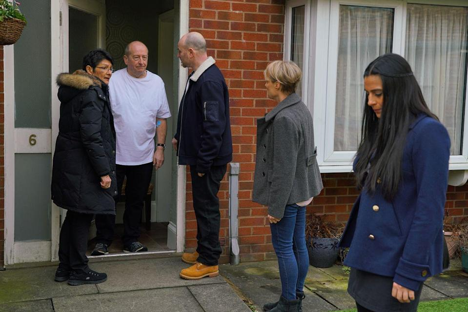 <p>The paramedics have found nothing wrong with him, and Alya fears that he's manipulating Yasmeen again.</p>