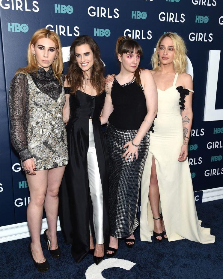 Allison and her Girls co-stars