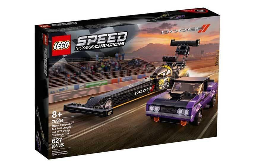 Dodge-SRT-Top-Fuel-Dragster-and-Challenger-TA-Lego