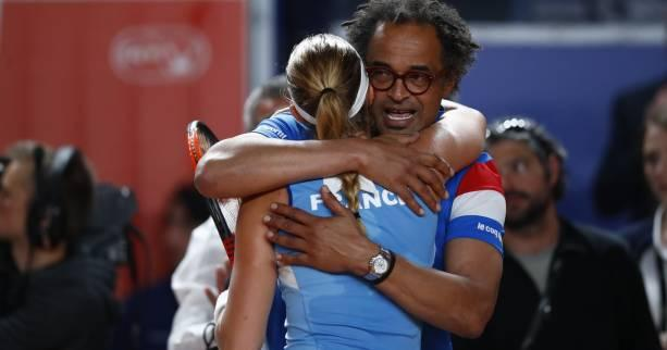 Tennis - Fed Cup - Yannick Noah (capitaine de l'équipe de France de Fed Cup) : «On kiffe»