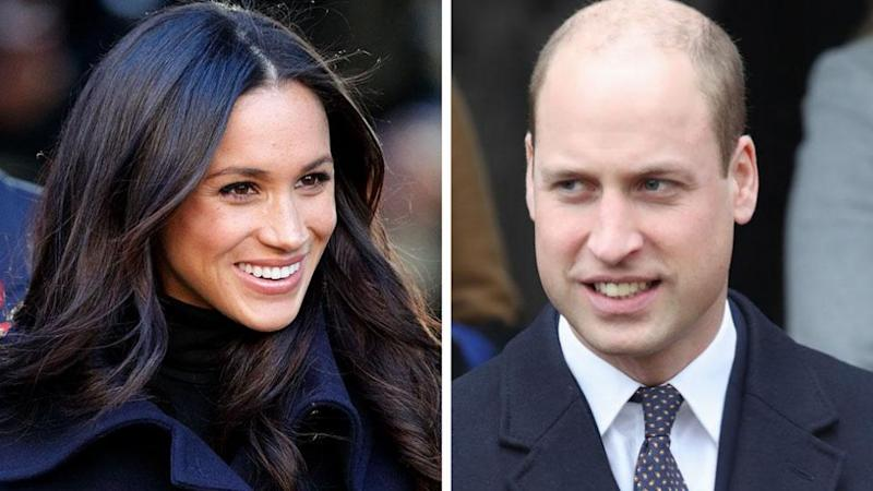 Meghan apparently had a go at her brother-in-law's lack of hair at Christmas. Photo: Getty