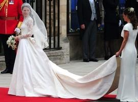 Sam Taylor-Wood Goes For Kate Middleton Inspired Wedding Dress