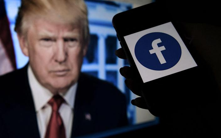 """""""Given the seriousness of the violations and the ongoing risk of violence, Facebook was justified in suspending Mr Trump's accounts"""" - AFP"""