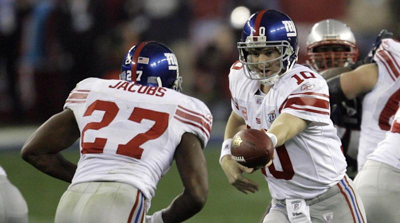 d84130a92 Ex-Giants RB Brandon Jacobs had his Super Bowl game-worn jersey stolen