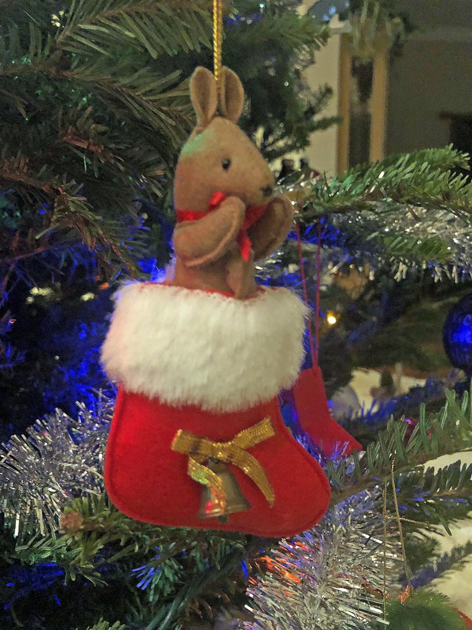 <p>What's cuter than a kangaroo in a stocking? Answer: quite literally nothing.</p>