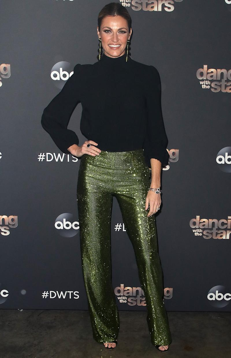 Erin Andrews Claps Back at Twitter Troll Who Calls Out Her 'Hideous Pants' and 'Bony Hips'