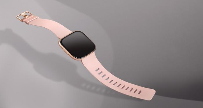 Versa 2 with a pink strap