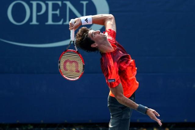 Thomaz Bellucci durente o US Open de 2015