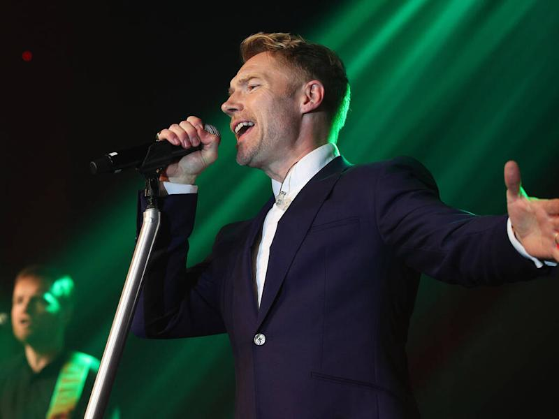 Ronan Keating to be a dad of five