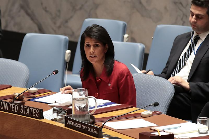 Read Nikki Haley's Remarks to the United Nations Following U.S. Airstrikes on Syria