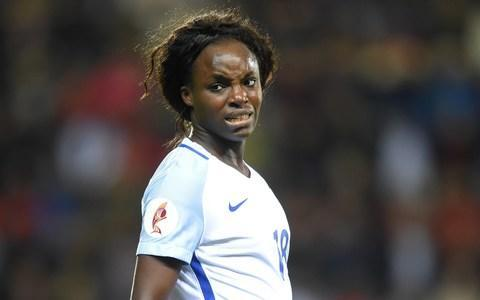 "Eni Aluko has announced that she will be leaving Chelsea Ladies ""with a heavy heart"" following the final game of the Women's Super League season this weekend. Aluko, who has helped her side to a league and FA Cup double this season, said she ""could not dream of a better ending"" to her second stint as a Chelsea player. The 31-year-old is yet to reveal which club she will be joining this summer, but held talks with Paris St-Germain and one other overseas team earlier this year. Aluko also won the domestic double with Chelsea in 2015, when she was the team's player of the year, and was described by the club as one of the great players in their history. ""It's with a heavy heart I confirm I'll be leaving Chelsea,"" she said. ""I could not dream of a better ending. To my team-mates who I adore, the club and fans – thank you."" It was announced earlier this week that Aluko, who has made 102 appearances for England, will join ITV's punditry team for this summer's men's World Cup in Russia. Aluko first signed for Chelsea in 2007 before leaving to play in the US a year later. Aluko has made 102 appearances for England Credit: Getty Images She rejoined the club in 2012, and was named Chelsea's player of the year in 2015, when she was also player of the match in the FA Cup final. She has not been a regular starter under manager Emma Hayes this season, but scored the winning goal against Sunderland this weekend that took them to the brink of the Women's Super League title. Chelsea secured the trophy with a 2-0 victory over Bristol City on Tuesday night. In a statement, Chelsea said that Aluko is ""one of the greats in our Ladies team's history,"" adding her ""attacking flair and pace has been a feature of the Blues' forward play either centrally or out wide"". The decision to leave Chelsea marks the latest event in a turbulent year for Aluko, who was involved in a discrimination case against Mark Sampson, the former England women's manager. Sampson was found guilty of racially abusing Aluko and Drew Spence at the third time of asking, after being cleared of doing so by two previous inquiries. Sampson had been sacked a month earlier after evidence emerged of ""inappropriate and unacceptable"" behaviour with female players during his time as Bristol Academy manager."