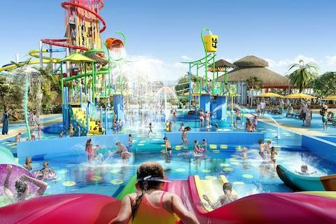 """The largest freshwater pool in the Caribbean, the tallest waterslide in North America and a hot air balloon offering aerial tours of the Bahamas are among the new features to be unveiled on CocoCay, Royal Caribbean's exclusive private island after a £142 million renovation. Dubbed as the cruise line's """"most ambitious project yet"""", the revamped island is the first in Royal Caribbean's Perfect Day Island Collection - a new series of exclusive private islands to be unveiled around the world, including in Asia, Australia and the Caribbean. At CocoCay, adrenaline junkies will enjoy the island's Thrill Waterpark, housing the largest wave pool in the Caribbean and 13 waterslides (more than any other water park in the Caribbean), including the record-breaking 135 foot Daredevil's Peak, as well as a 1,600 foot-long zip wire suspended 50 feet above the ground that plunges riders into the Caribbean Sea. CocoCay's new Thrill Waterpark will include 13 waterslides Credit: Royal Caribbean View our best ocean cruises For more laid-back affairs, passengers can relax on the island's two new beaches, including Chill Island, with its """"crystal-clear tropical waters and white powder-like sand"""", and South Beach for activities from beach volleyball and basketball to glass-bottom kayaking and paddle boarding, or stay poolside at the Oasis Lagoon freshwater pool and the Coco Beach Club offering the first overwater cabanas in The Bahamas Tremendous views over the island are offered from a helium balloon ride floating 450 feet in the air. 10 beautiful islands you can only visit on a cruise View our best Caribbean cruises Work on CocoCay will begin in September with the building of a new pier, while the rest of the island's attractions are expected to be completed by 2019, with the construction of the beach club marking the final phase of the transformation. A near neighbour of Great Stirrup Cay, CocoCay is Royal Caribbean's second private island (also located in what is known as the Berry Isla"""