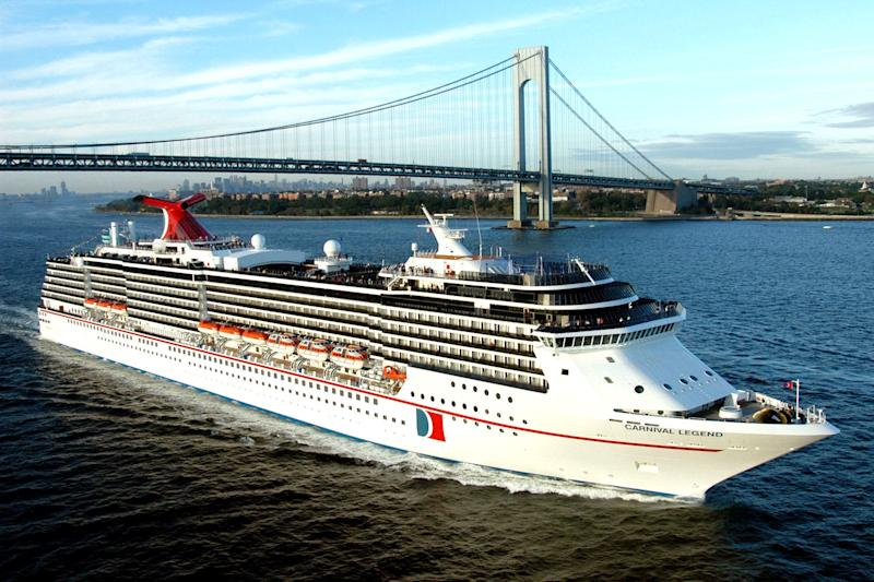 A Carnival cruise ship (AP)