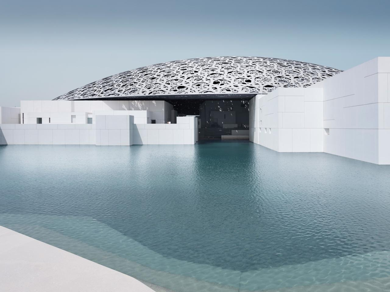 """<p><strong>What's this place all about?</strong><br> The Louvre has a new outpost in Abu Dhabi—well, sort of. The basis of a <a href=""""https://www.cntraveler.com/story/the-louvre-abu-dhabi-will-open-this-week-heres-what-to-expect?mbid=synd_yahoo_rss"""">long-anticipated cultural collaboration</a> between the U.A.E. and France dates back to 2007; after 10 years in the works, the museum opened with its own unique philosophy and interpretation. It's considered the first universal museum in the Arab world. If that isn't reason enough to visit, the futuristic architecture by Pritzker Prize winner Jean Nouvel certainly is.</p> <p><strong>Ye shall know them by their permanent collection: How was it?</strong><br> One of the most compelling aspects of this museum isn't the individual works, but the way they're curated. Rather than categorized by material or culture, they're displayed chronologically, making a walk through the museum feel like a journey through time. The collection itself, a compilation from French institutions and pieces from Abu Dhabi, highlights the connections and universal themes among global cultures and eras.</p> <p><strong>How were the exhibits?</strong><br> Four temporary exhibits rotate through the museum every year. In collaboration with 13 French museum partners, the temporary exhibits revolve around a theme; say, archeological treasures of Saudi Arabia, modern Japanese decor, and the Dutch Golden Age.</p> <p><strong>What did you make of the crowd?</strong><br> Families, expats, corporate outings, school field trips: A universal museum draws an equally universal audience.</p> <p><strong>On the practical tip, how were the facilities?</strong><br> The chronological format makes it easy to wander through in a seamless manner. But the lack of signage and meandering pathways sometimes make it unclear where to go next.</p> <p><strong>Any guided tours worth trying?</strong><br> The Essential Tour is a thematic 90-minute guided tour through the museum; the Se"""