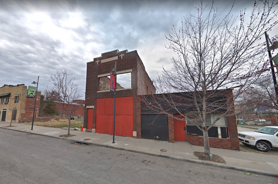 A building at 1814 Vine St., which is owned by the City of Kansas City, Missouri, can be seen in this Google Street View.