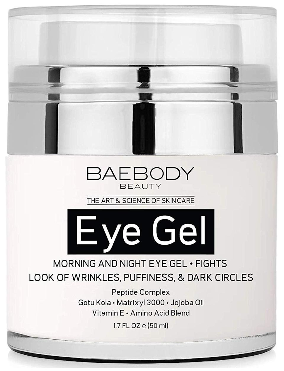 <p>Everyone needs a great eye cream, and customers can't get enough of this <span>Baebody Eye Gel</span> ($25).</p>