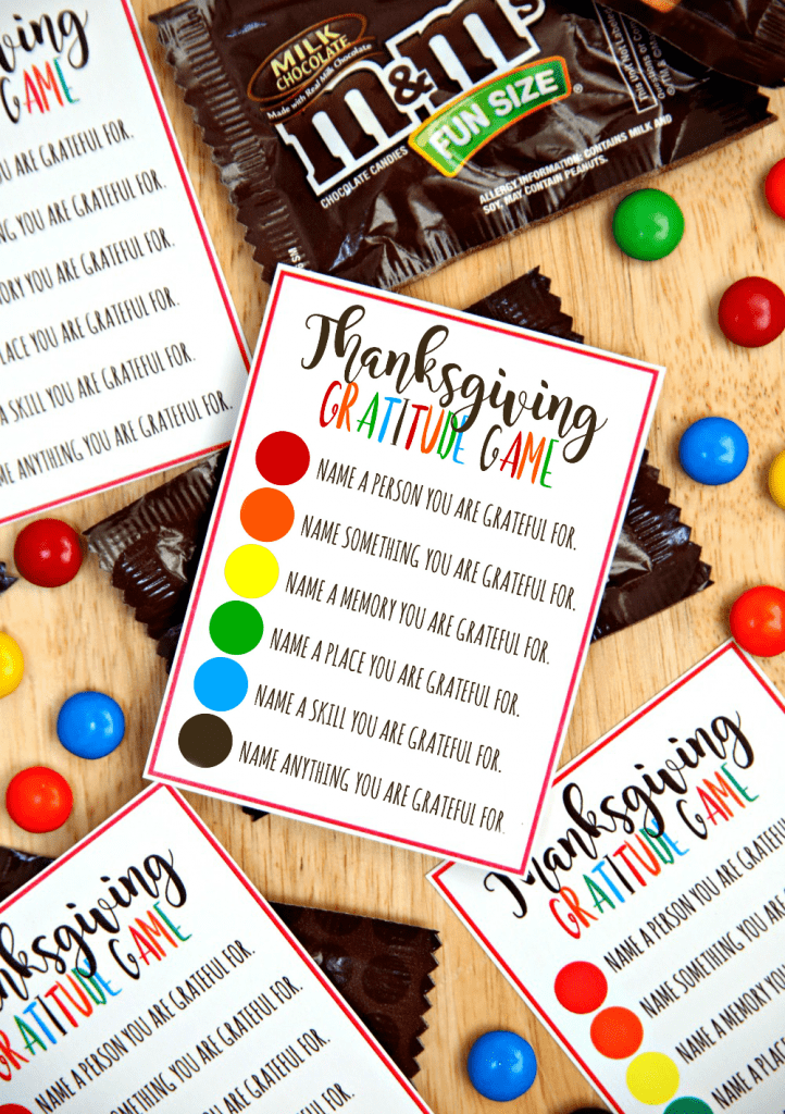 "<p>This free printable makes saying what you are thankful for even sweeter — and inspires people to get more detailed than ""my family."" </p><p><a href=""https://www.happygoluckyblog.com/thanksgiving-gratitude-game/?utm_medium=social&utm_source=pinterest&utm_campaign=tailwind_tribes&utm_content=tribes&utm_term=475776758_16715720_229951"" rel=""nofollow noopener"" target=""_blank"" data-ylk=""slk:Get the tutorial at Happy Go Lucky"" class=""link rapid-noclick-resp""><em>Get the tutorial at Happy Go Lucky</em></a></p>"