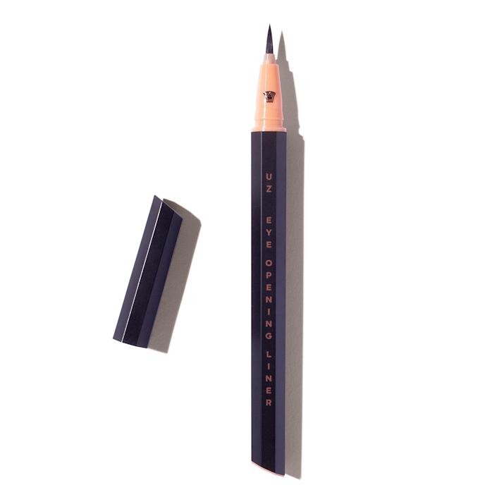"""<p>This is the perfect black liner, whether you are just sharpening your eyeliner skills or can master symmetrical flicks with your eyes closed. It draws on with ease due to its handcrafted paintbrush-like applicator. Its tip is also so slim, I can create paper-thin lines and detailed designs with it. (The brand also does colorful liners really well — I love using a few different shades to create graphic designs, adding dashes of tangerine, lilac, lemon, and sky blue around my lids.) </p> <p>— D.A.</p> <p><a href=""""https://subscriptions.allure.com/pubs/N3/ALL/ALB_Login.jsp?cds_page_id=248731&cds_mag_code=ALL&id=1620654811310&lsid=11300853313057612&vid=1"""" rel=""""nofollow noopener"""" target=""""_blank"""" data-ylk=""""slk:+Get it here+"""" class=""""link rapid-noclick-resp""""><strong>+Get it here+</strong></a></p>"""