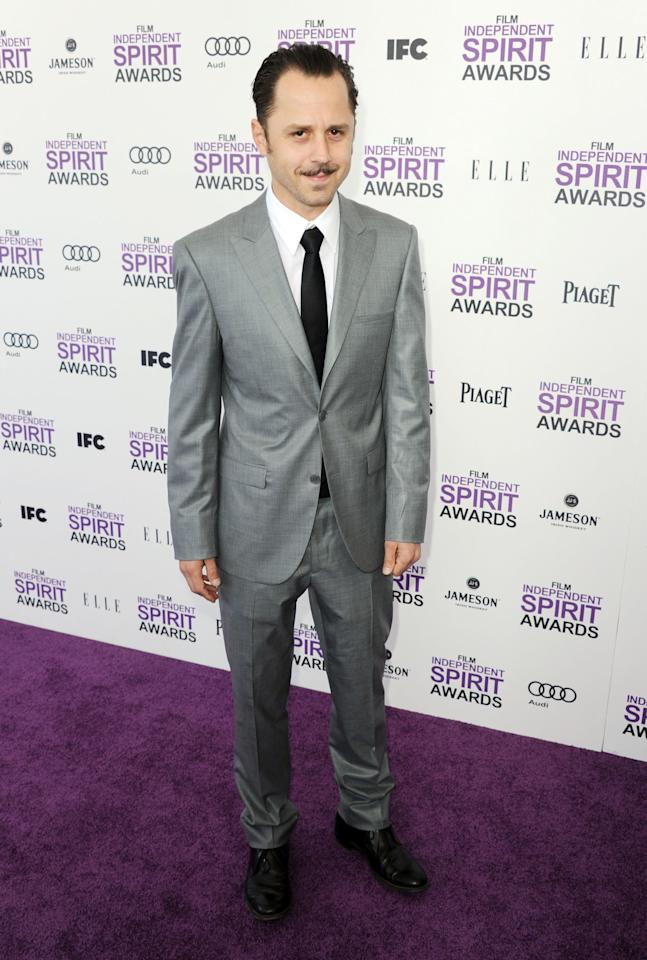 SANTA MONICA, CA - FEBRUARY 25:  Actor Giovanni Ribisi arrives at the 2012 Film Independent Spirit Awards on February 25, 2012 in Santa Monica, California.  (Photo by Kevin Winter/Getty Images)