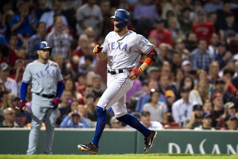 Rangers Beat Red Sox 9-5
