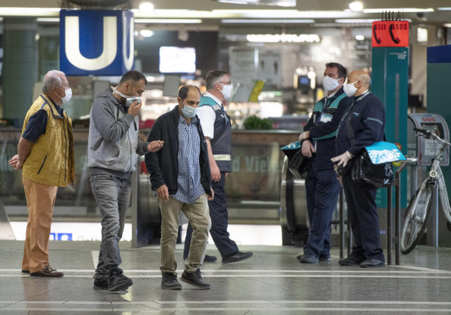 Coronavirus cases around the globe have hit three million as countries explore how to leave lockdown. (Photo by Boris Roessler/picture alliance via Getty Images)