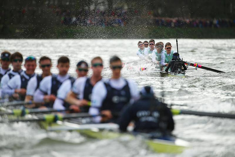 Police warning: Spectators have been warned to be extra vigilant at this year's Boat Race: Richard Heathcote/Getty Images