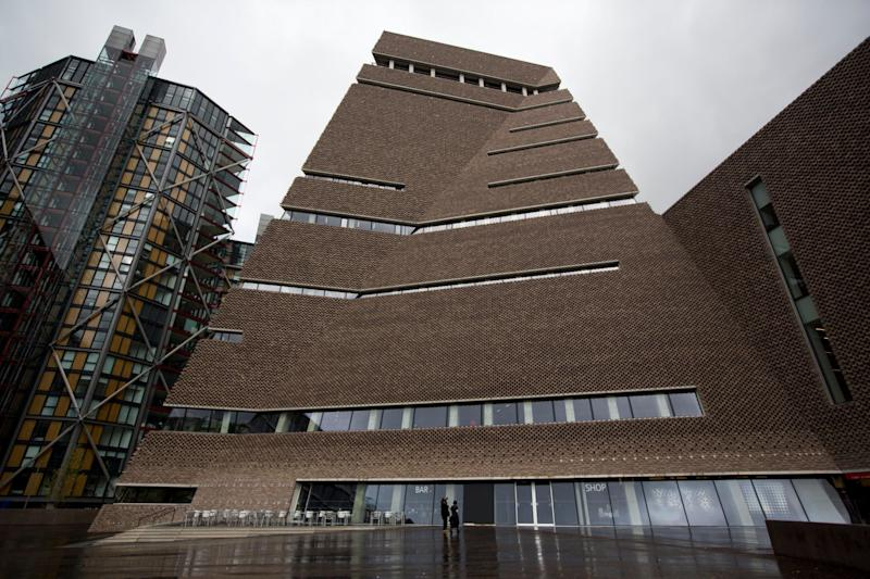 The incident occurred at the Tate Modern art gallery in central London (Photo: ASSOCIATED PRESS)