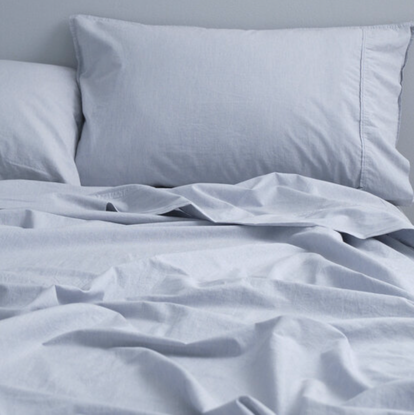 Queen-sized soft wash cotton sheets