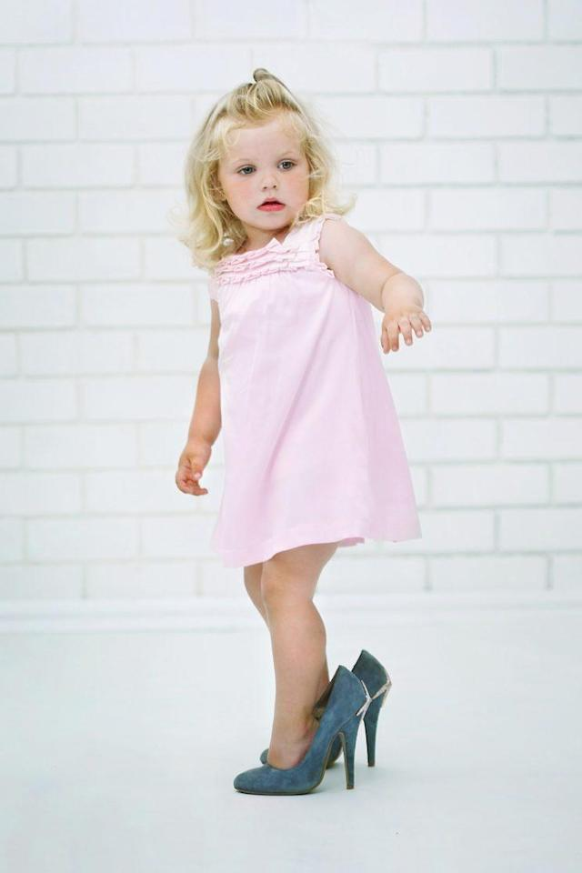 3e7d527c741b High heels designed for toddlers are freaking parents out. (Photo  Getty  Images)