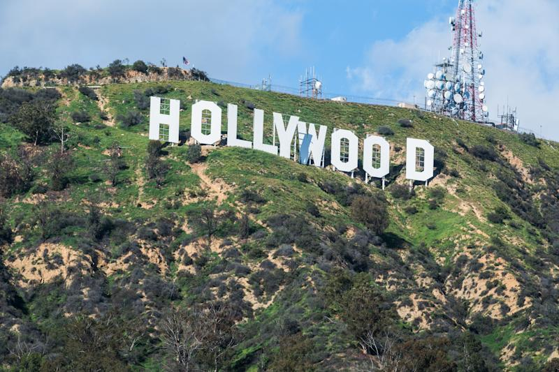 The Hollywood sign in Los Angeles, United States of America