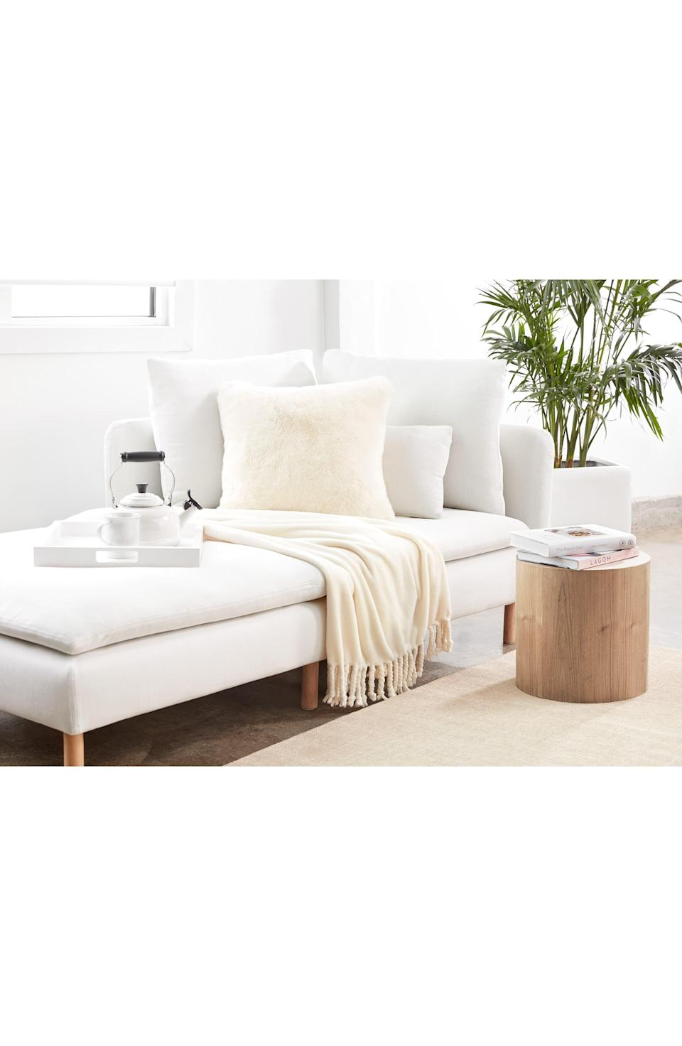 """<p><strong>NORDSTROM AT HOME</strong></p><p>nordstrom.com</p><p><strong>$39.50</strong></p><p><a href=""""https://go.redirectingat.com?id=74968X1596630&url=https%3A%2F%2Fwww.nordstrom.com%2Fs%2Fnordstrom-bliss-plush-throw%2F3564757&sref=https%3A%2F%2Fwww.womansday.com%2Frelationships%2Fg3242%2Fgifts-for-couples%2F"""" rel=""""nofollow noopener"""" target=""""_blank"""" data-ylk=""""slk:Shop Now"""" class=""""link rapid-noclick-resp"""">Shop Now</a></p><p>You can never have too many fluffy blankets for cuddling on the couch. This one is affordable and highly rated, with customers thrilled at how the softness lasts through multiple washes.</p>"""