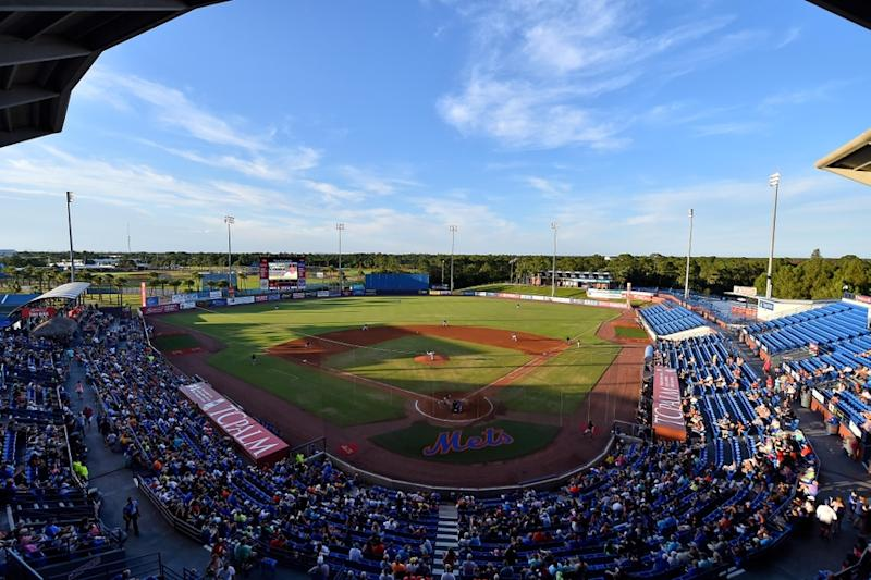 A general view at Mets Spring Training